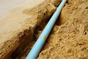 sewer-line-dug-up